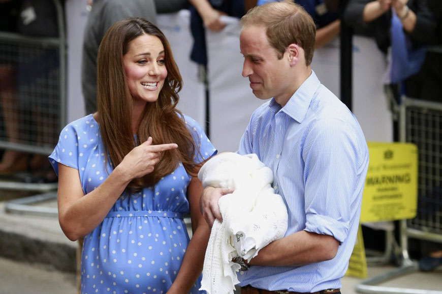 Our Top 10 Maternity Outfits By Kate Middleton