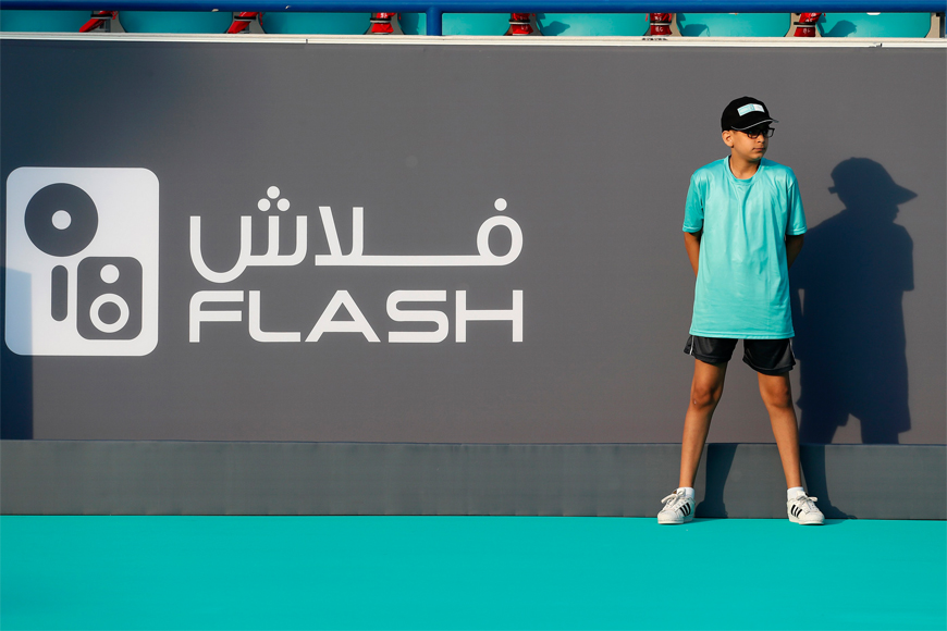 Your Child's Rare Chance to Mix with Top Tennis Stars at the Mubadala World Tennis Championship