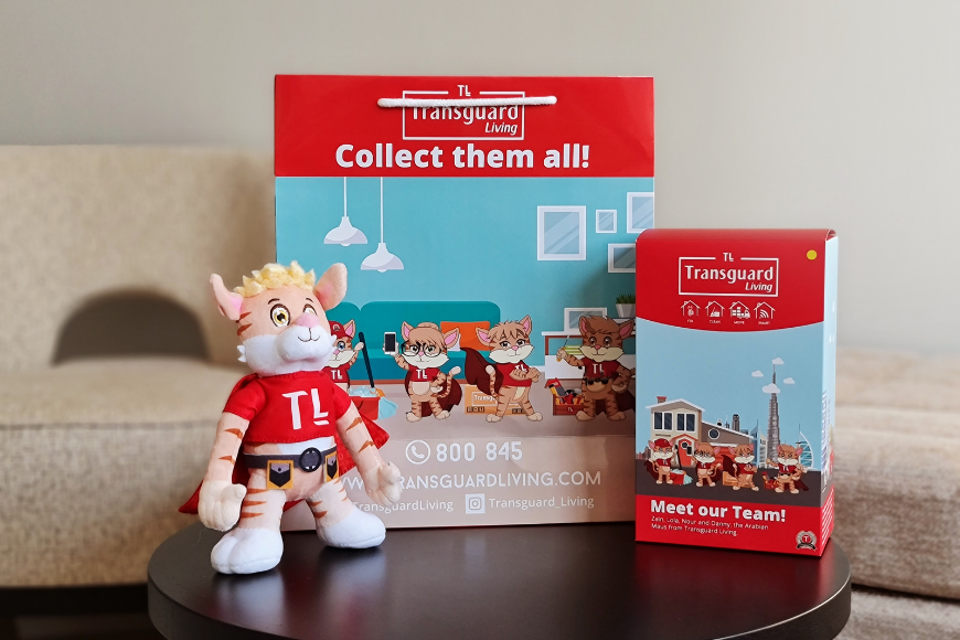 You Can Get a FREE Stuffed Toy Just By Cleaning Your Dubai Home
