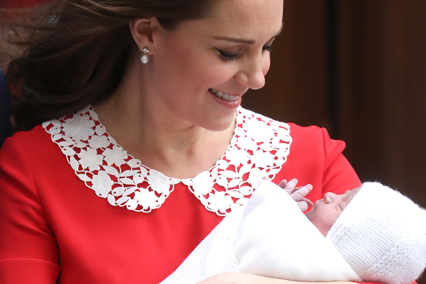 Royal Baby Name: Prince Louis Arthur Charles