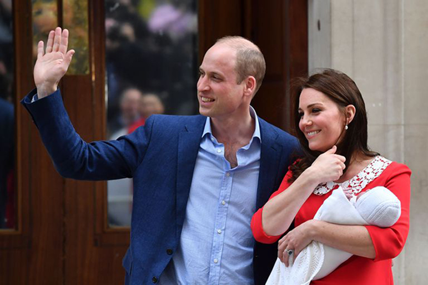 First Photos of the New Royal Baby