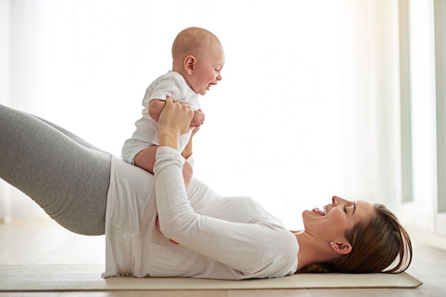 كيف أستعيد رشاقتي بعد إنجاب طفل؟
