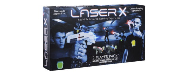 Laser X Twin Pack