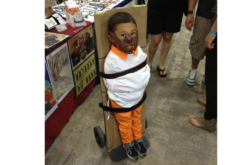 Hannibal Lecter children's costume