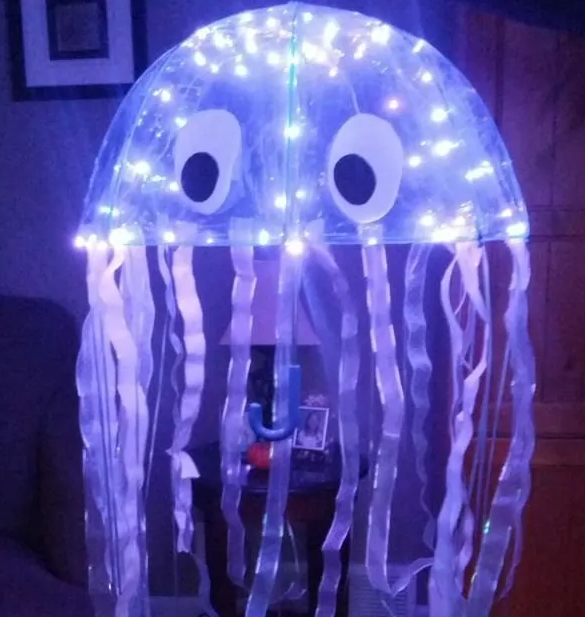Jellyfish Halloween costume for kids