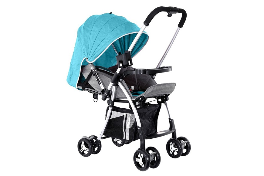 BABY PLUS Stroller Pram in Green