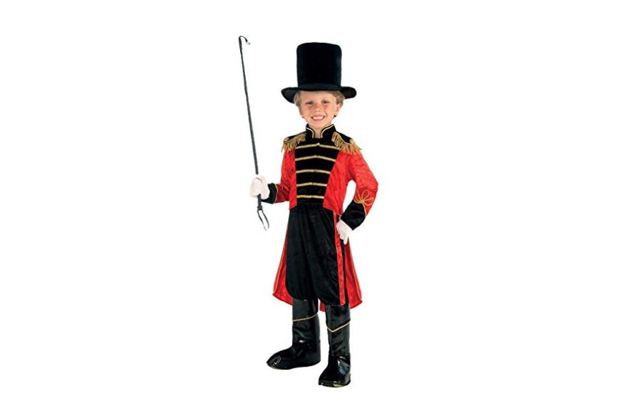 Circus ring leader children's costume