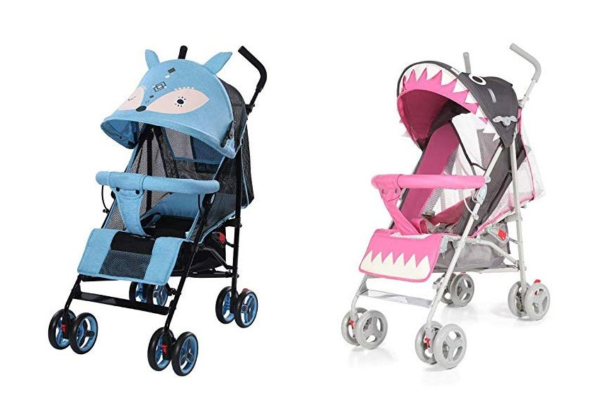 Animal baby stroller