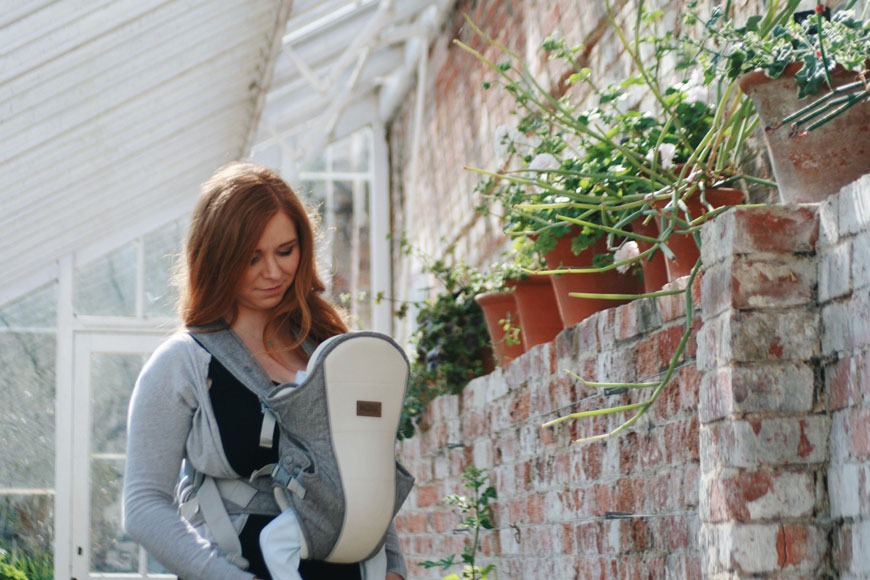 Tula Everblue Explore Baby Carrier