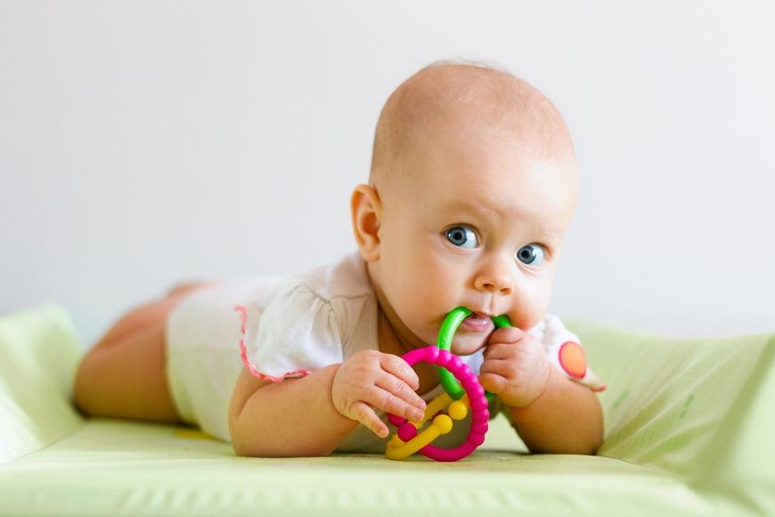 Babies development 3 months