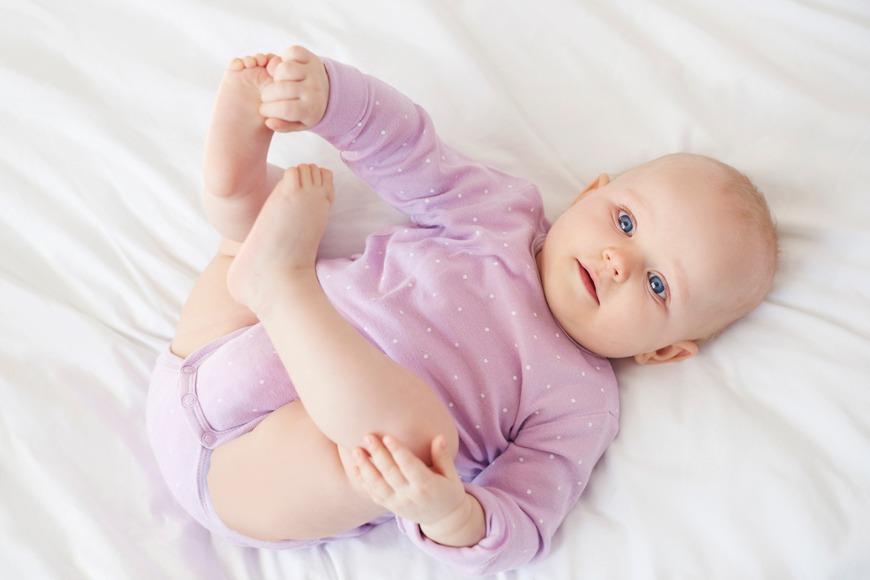 Babies development 4 months