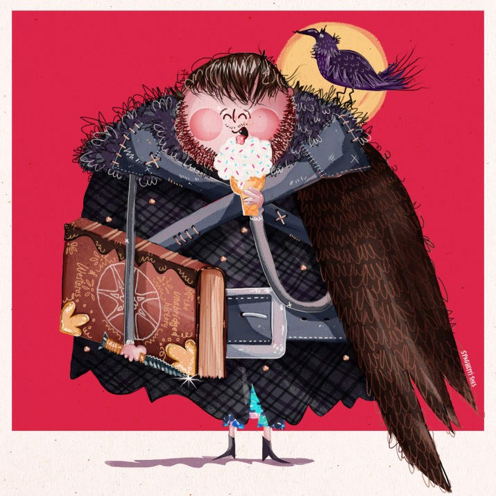 Game Of Thrones Kid-Friendly Illustrations