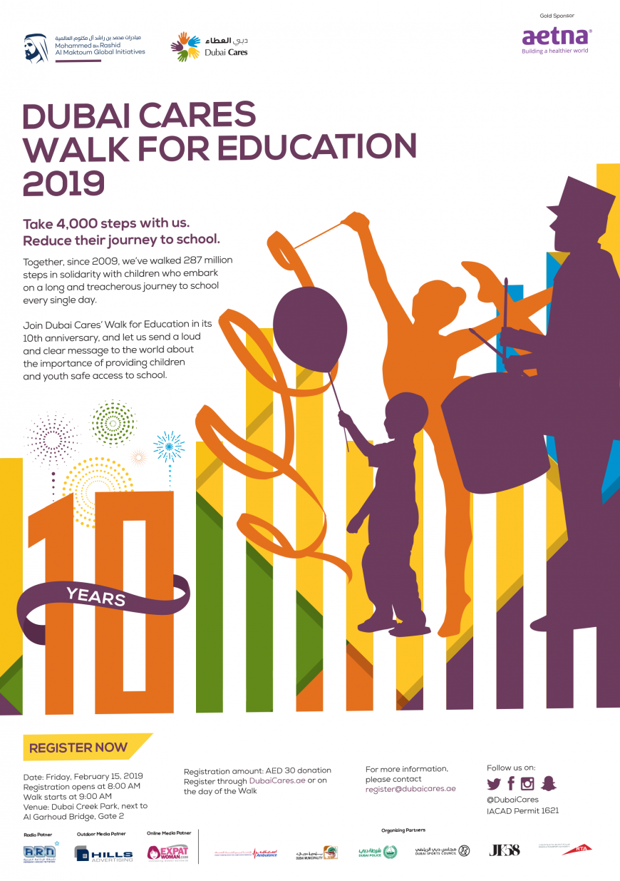 Dubai Cares Walk for Education 2019