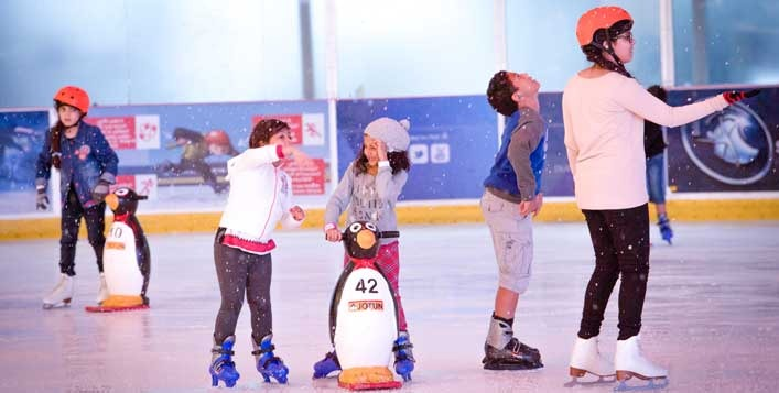 Winter activities for kids in Dubai on Cobone