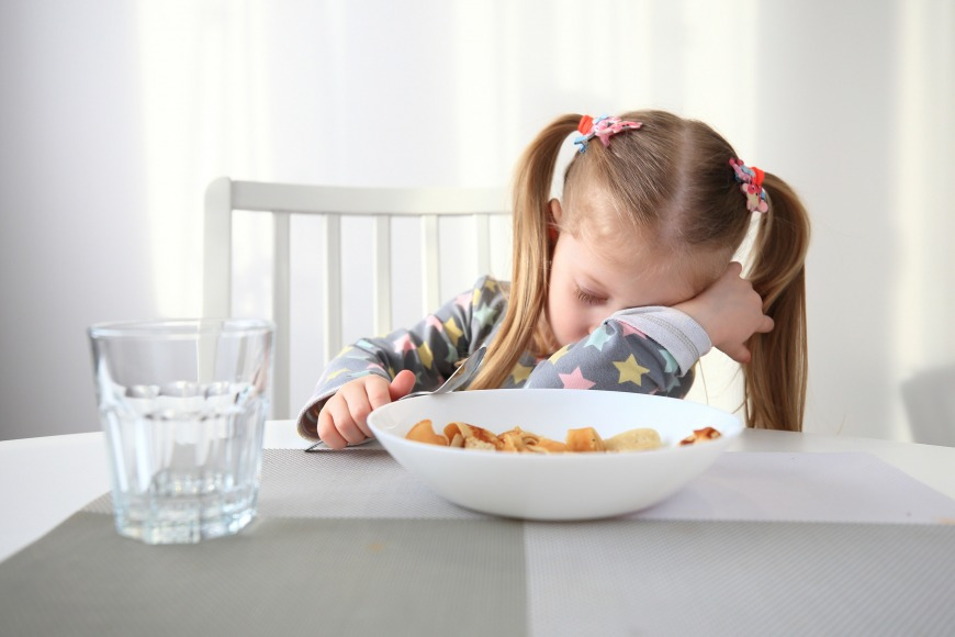 Children may appear to have less energy than usual