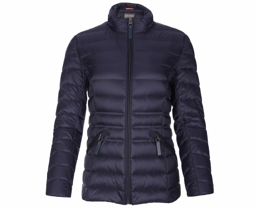 Laura Ashley Navy Down Puffa Jacket