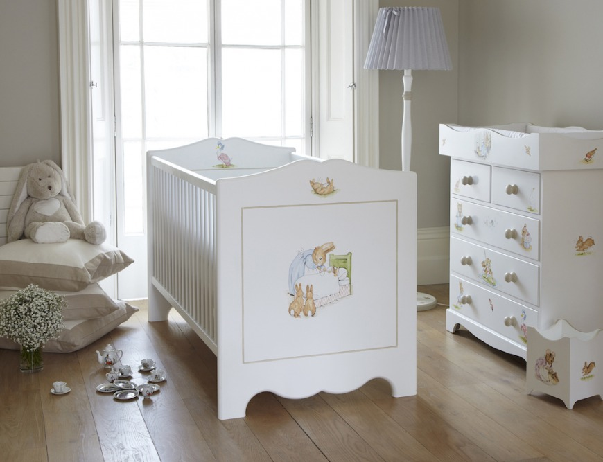 Beatrix Potter Nursery Furniture, Dragons of Walton Street