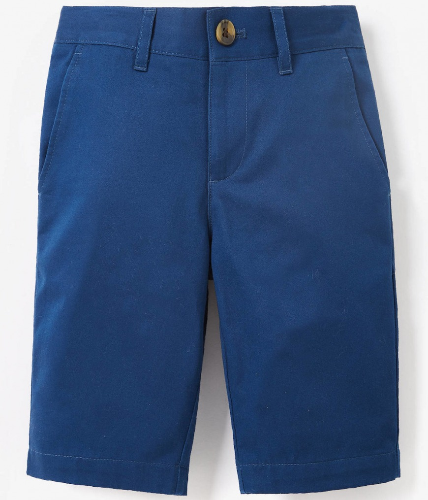 Collection Boys' Blue Sateen Shorts