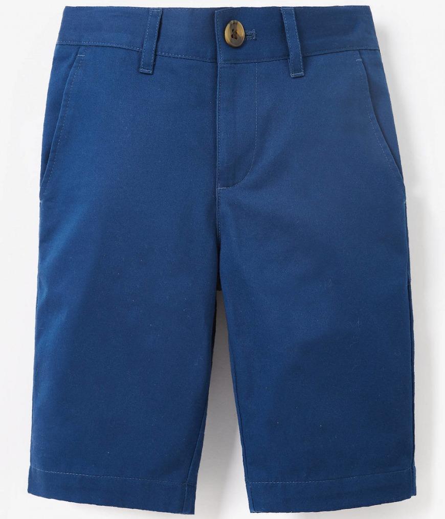 Collection Boys' Blue Sateen Shorts