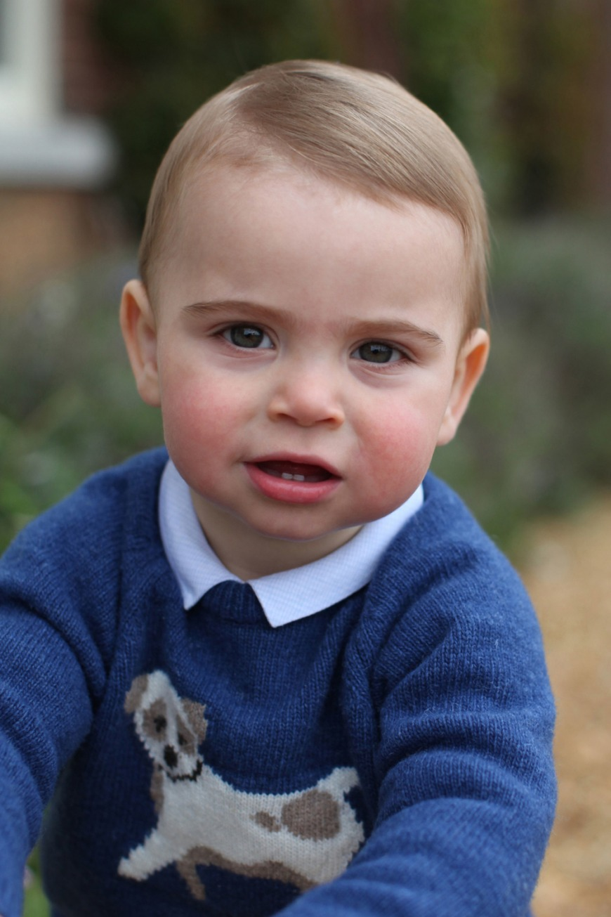 Prince Louis Turns One