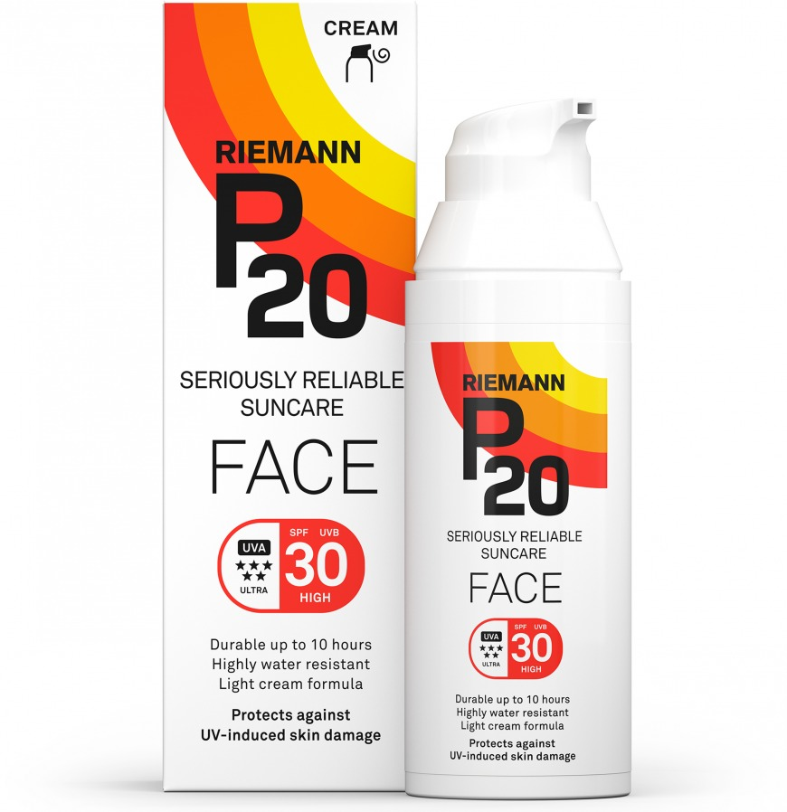 P20 Face Lotion SPF30, £15.99/AED71.41 (was £19.99/AED89.28), Superdrug