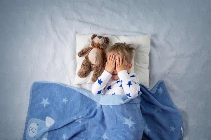Hide and seek in the bedroom