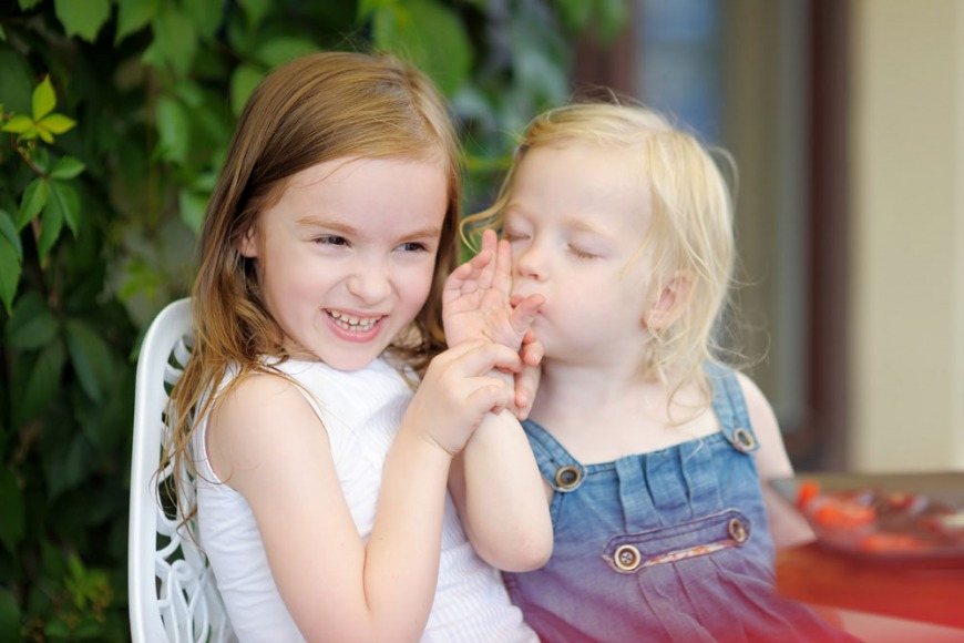 Kids listen to each other