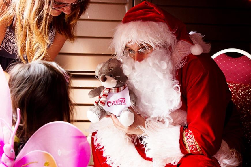 Santa's Grotto at ExpatWoman Festive Fair