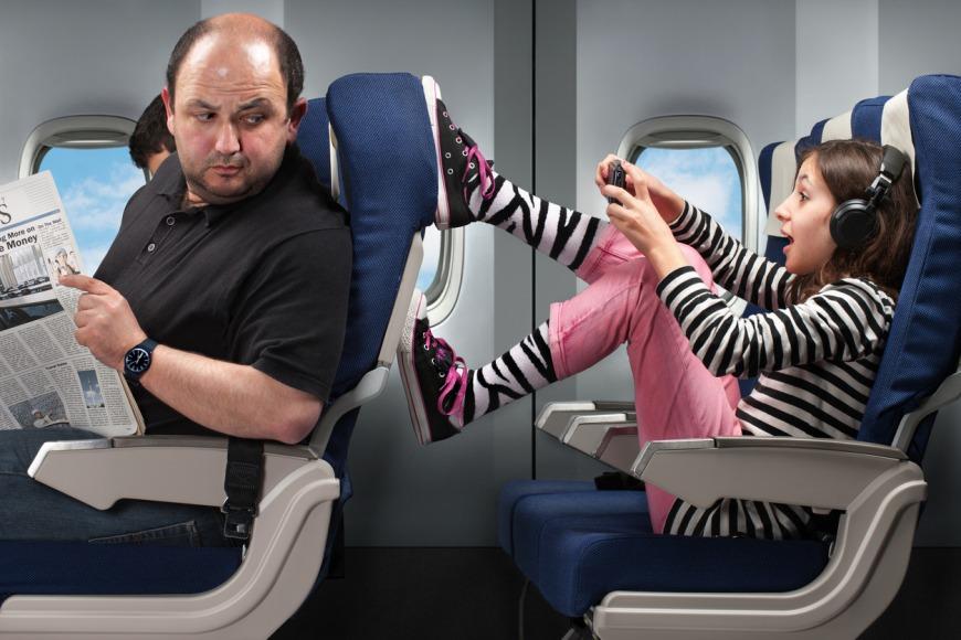 تغلب خوف ركوب الطائرة