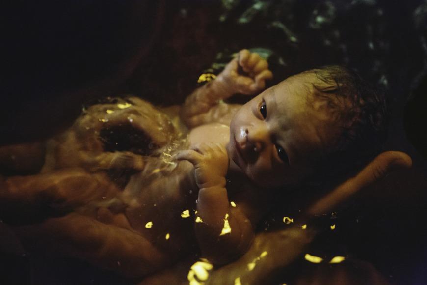 Water birthing