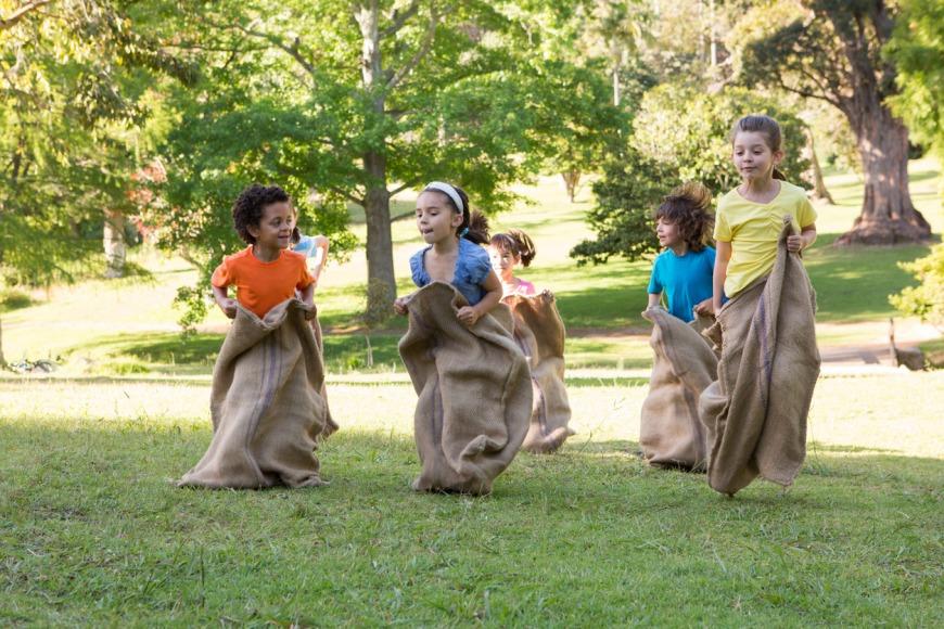 الألعاب المسلية في حفلات الأطفال