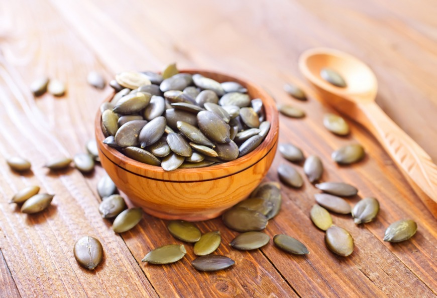 Pumpkin seeds for conceiving