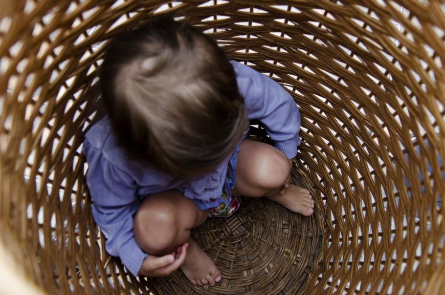 الأماكن التي يختبئ فيها الأطفال