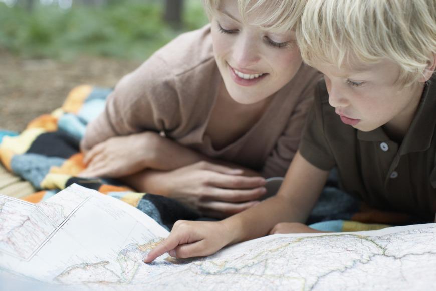 السفر مع الأطفال