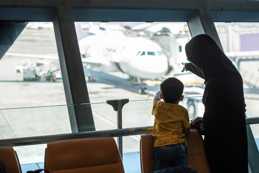 How to survive a layover with children