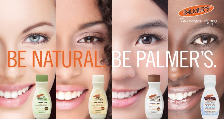 Palmer's range of skin products
