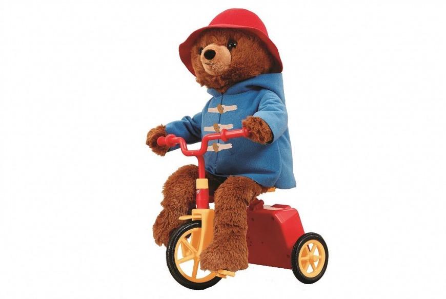 Cycling Paddington Bear in Dubai