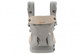 Ergobaby 360 Baby Carrier All Carry Positions Grey