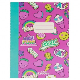 #10. Smily Kiddos A5 Lined Exercise Pink Book