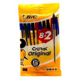 #13. Bic Cristal Assorted Pen 10pcs