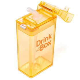#15. Drink In The Box Eco Friendly Reusable Drink & Juice Box Container 8oz