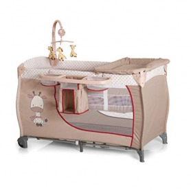 Hauck Brown Giraffe Baby Crib