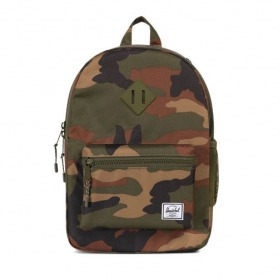 #4. Herschel Heritage Youth Backpack Woodland Camo