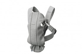 BABYBJORN Baby Carrier Mini In 3D Jersey, Light Grey