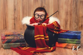 This 3-Month-Old Had The Most Adorable Harry Potter Photo Shoot Till Date