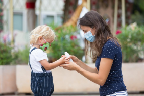 UAE Kids Above Two Years Old Are Now Required to Wear Face Masks