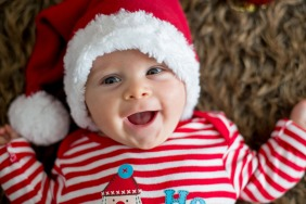 First Christmas as new parents