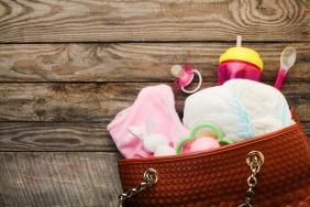 Baby nursing bag