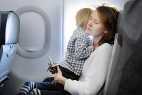 Surviving A Flight With Your Toddlers