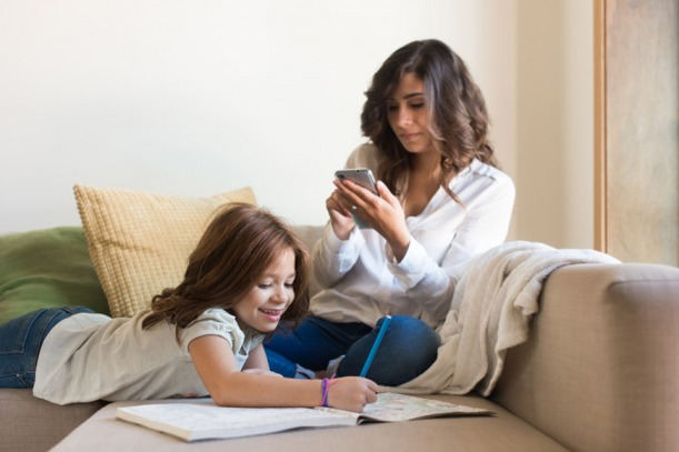 Parents are spending too much time on their devices